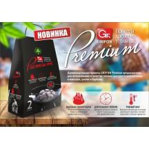 Древесноугольные брикеты Grifon Premium ECO, 2 кг, в мешке /8/1