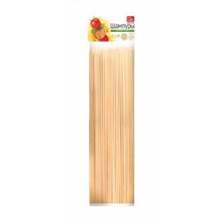 Шампуры деревянные GRIFON, 300 мм в упаковке, 100 шт. /100/1