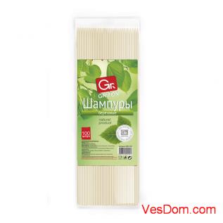 Шампуры деревянные GRIFON, 200 мм в упаковке, 50 шт. /128/1