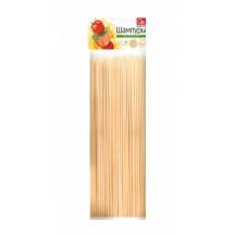 Шампуры деревянные GRIFON, 250 мм в упаковке, 100 шт. /100/1