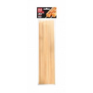 Шампуры деревянные GRIFON, 300 мм в упаковке, 50 шт. /60/1
