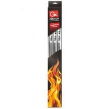 Шампуры GRIFON плоские 60 см, 6 шт. на блистере, нерж. сталь 1,5 мм /24/1