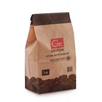 Уголь березовый GRIFON 5 кг мешок крафт /1