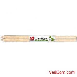 Шампуры GRIFON Premium ECO, 40 см, береза, 16 шт. в упаковке /25/1