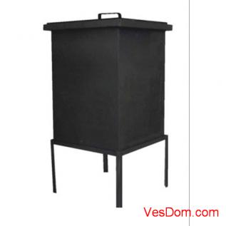 Коптильня стационарная GRIFON Premium, 45,4x45,4x56 см, сталь /1