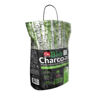 Уголь березовый GRIFON PREMIUM (FSC) 3,0 кг в крафт-пакете/1