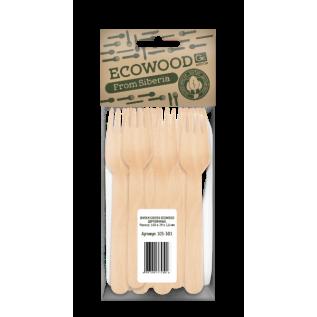 Вилки деревянные GRIFON Eco Wood, 160 мм, 10 шт. в упак./64/8/1
