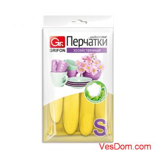 Перчатки латексные GRIFON р-р S