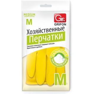 Перчатки латексные GRIFON р-р M