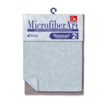 Салфетки из микрофибры GRIFON ART 30 х 30см., 1шт. в упаковке 100/25/1