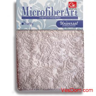 Салфетки из микрофибры GRIFON ART 30 х 30см., 1шт. в упаковке