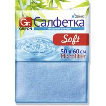 Салфетка из микрофибры GRIFON SOFT 50 х 60 см, 1 шт. в уп. 50/25/1