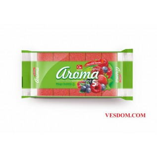 Губка из поролона GRIFON АРОМА лесные ягоды 5шт в упаковке/36