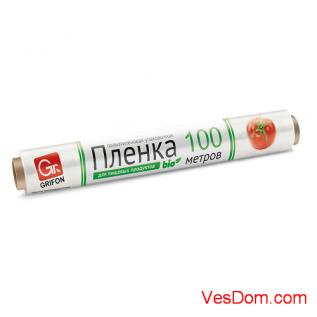 Пленка пищевая п/э Эконом 290 мм x 100 м /8/1