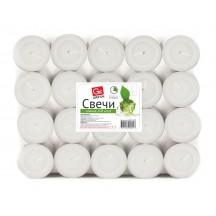 Свечи чайные GRIFON, 100 шт. в п/э упаковке /6/1