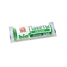 Пакеты д/мусора GRIFON Bio 120л (70х110см,18мкм), 10шт./рул.