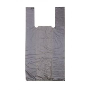 Пакет-майка черная без рисунка (30x60см, 17мкм), 100 шт. в упак./10/1