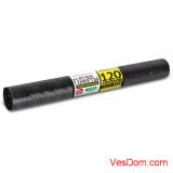 Мешки для мусора GRIFON 120 л (25 мкм) ПВД черные, 10 шт. в рулоне /20/1