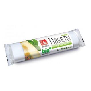 Пакеты для завтрака GRIFON 1л (17 x 28 см, 8 мкм), 80 шт. в рулоне /80/1