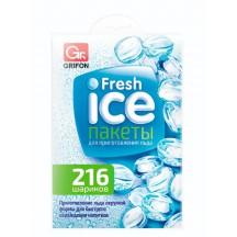 Пакеты для льда GRIFON 216 шариков в пакете
