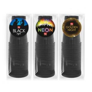 Стаканы GRIFON BLACK, 200 мл, 26 шт. в п/п упаковке /18/1