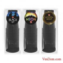 Стаканы GRIFON BLACK, 200 мл, 10 шт. в п/п упаковке /36/1