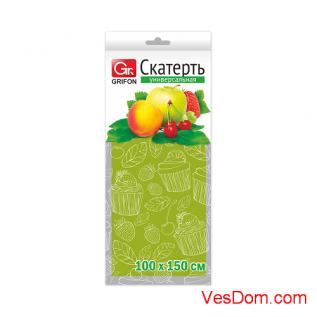 Скатерть п/э GRIFON Bio 100 х 150 см, 1 шт. /80/1