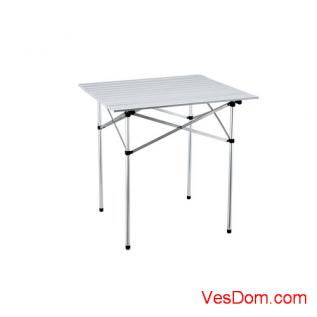 Стол складной GRIFON Premium, 70х70х73 см, алюминий, чехол /4/1
