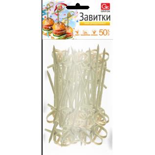 Пики декоративные GRIFON, 10 см, 100 шт. в упак./24/1