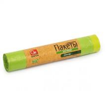Пакеты д/мусора с завязками GRIFON Bio 120л (18 мкм) ПНД, 10шт./рул. /18/1