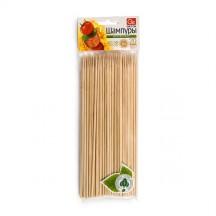 Шампуры деревянные GRIFON, 200 мм в упаковке, 100 шт. /72/1
