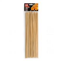 Шампуры деревянные GRIFON, 300 мм в упаковке, 50 шт., арт 400-109/1