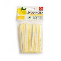 Зубочистки из дерева GRIFON цитрус в инд.бум.упак.с печатью 100шт/72/6/12/1